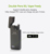 No button vaporizer pen ecig kit Kamry kecig 3.0 B vaporizer kit with 1200mah vaporizer battery case and double vapes