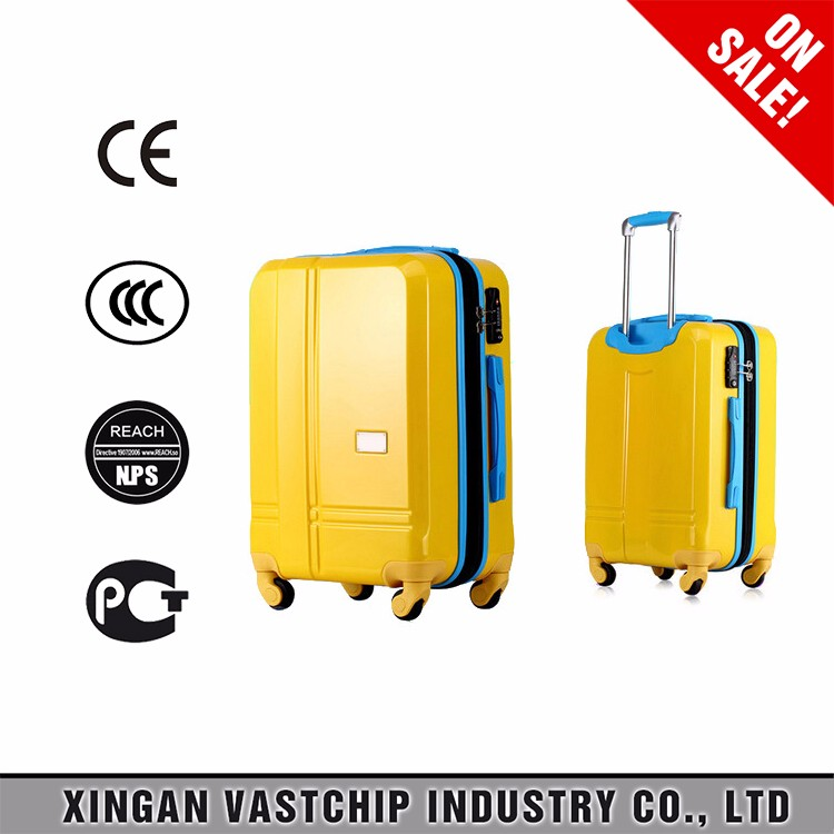 High quality ABS Trolley travel bag for sale, hard cases cheap travel bag business trolley luggage