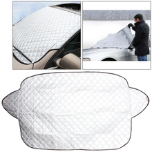 In Stock Cheap Car Auto Aluminum Film Sunshine Frost Snow Protect Windshield Cover Sunshades