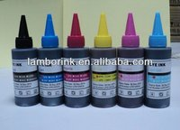 vivid print color Refill UV dye ink for HP 138 140 141 test before place order