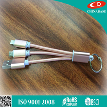 Factory price OEM mobile phones accessories multi-function usb smartphone charger cable 5 in 1 all in one usb data cable