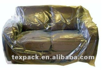 transparent clear vinyl pvc indoor/outdoor sofa covers