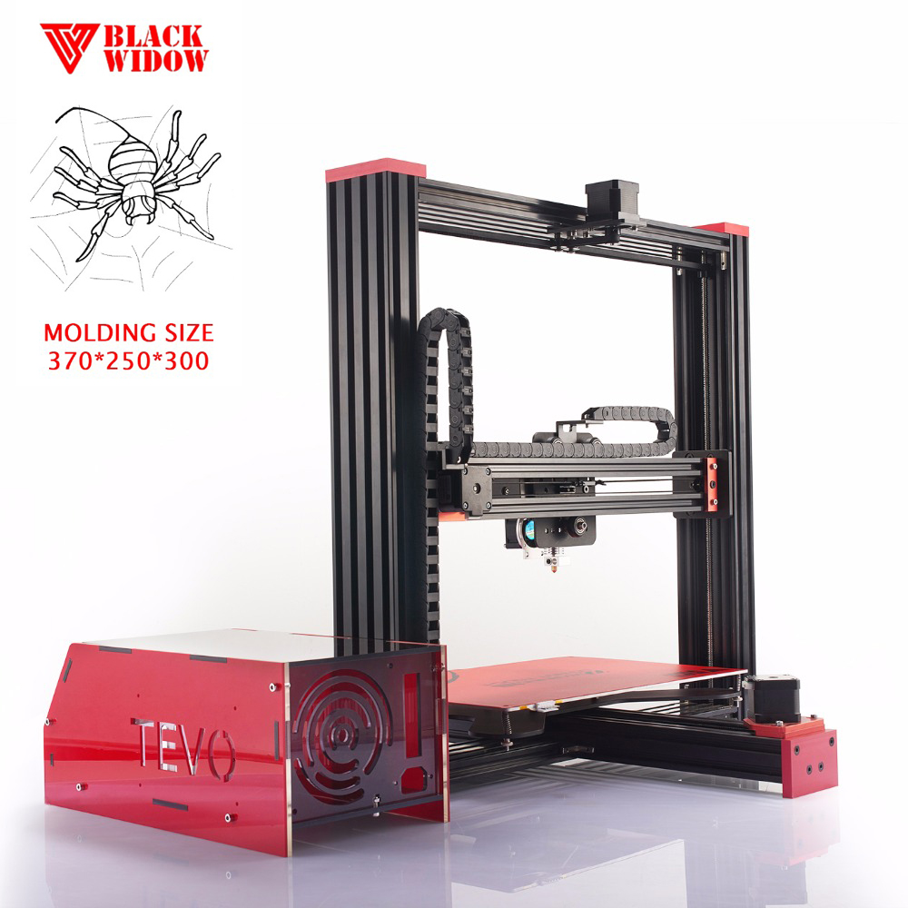 TEVO High precision portable DIY 3d printer for home and school use