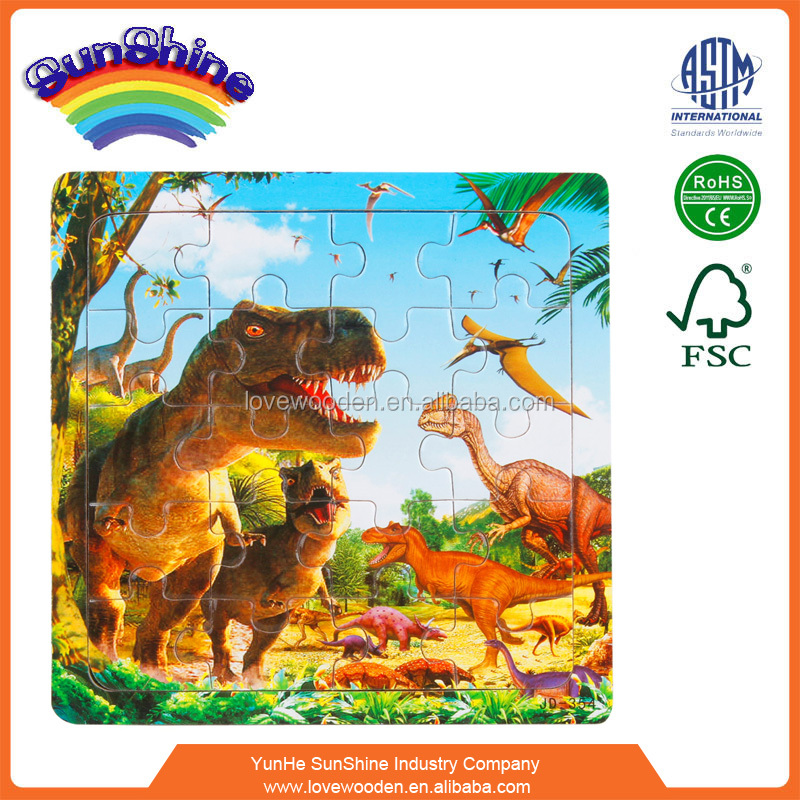 2015 hot sell kids wooden farm shaped jigsaw puzzle EN71 ASTM Magnetic Puzzle