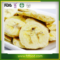 freeze dried fruits and vegetables flakes of banana