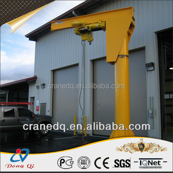 New Design BZ Model Electric Wire Rope Fixed Used Jib Crane For Sale