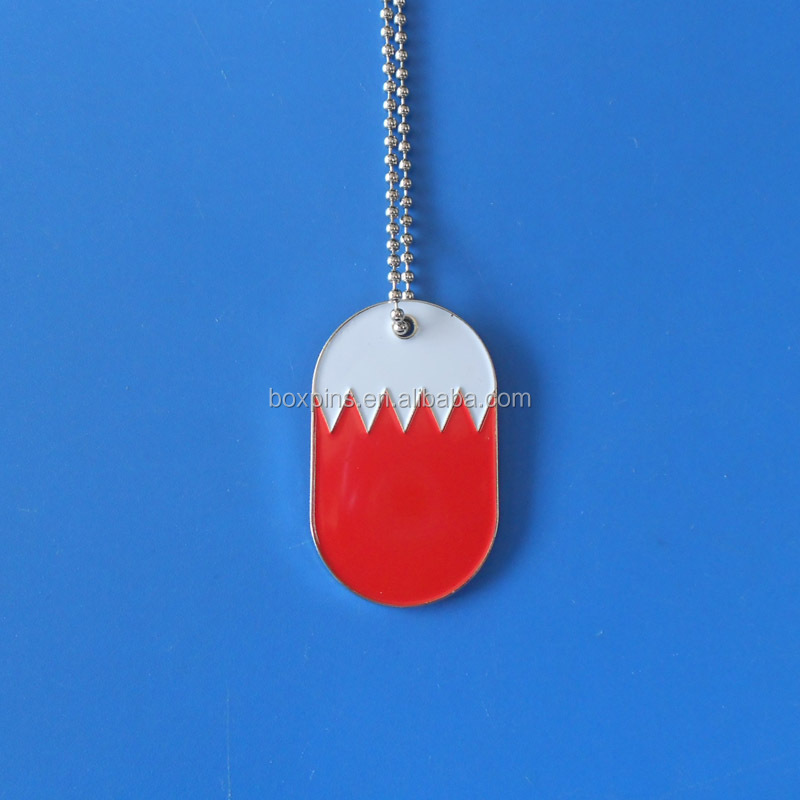 Bahrain flag necklace for national day gifts