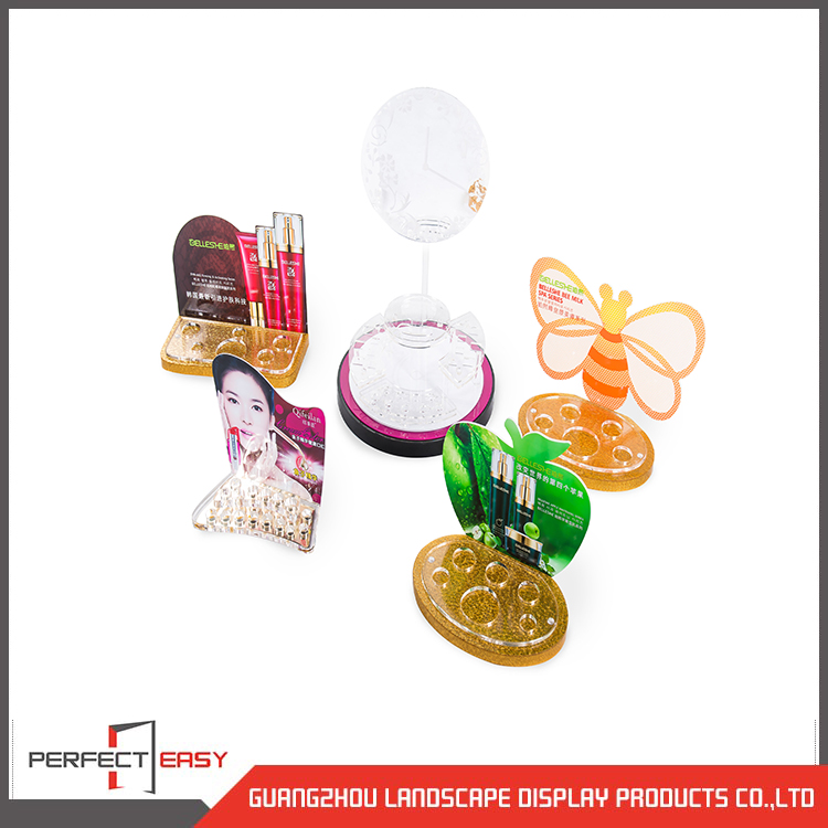makeup organizer acrylic cosmetic display stand