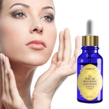 100% pure hyaluronic acid facial serum for skin care