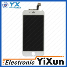 mobile phone for iphone 6 lcd, low price screen+touch for iphone 6""