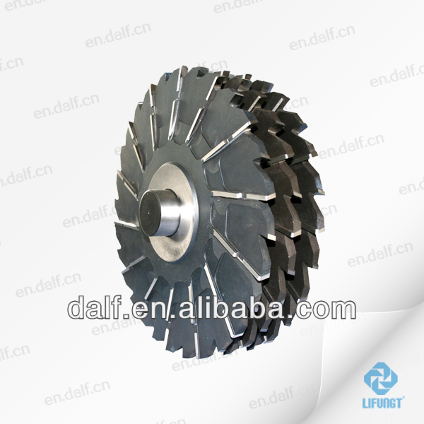 CUTTER specifications side & face milling cutter hss,Stepped and Staggered Side Milling Cutter