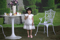 NEW ARRIVAL !2014 new fashion princess flower girl dresses india wholesale