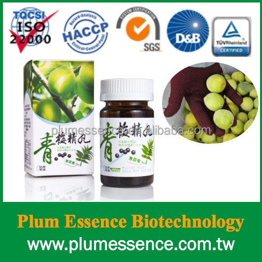 100% Natural Chinese Weight Loss Slimming Plum Essence Pills