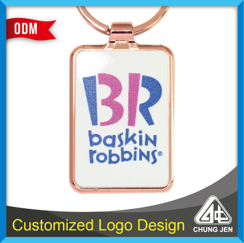 Promotional Gift Giveaways With Logo Custom Advertising Keychain