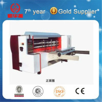 NC-Auto Rotary Corrugated Carton box Die Cutter Machine (Lead Edge Feeding)