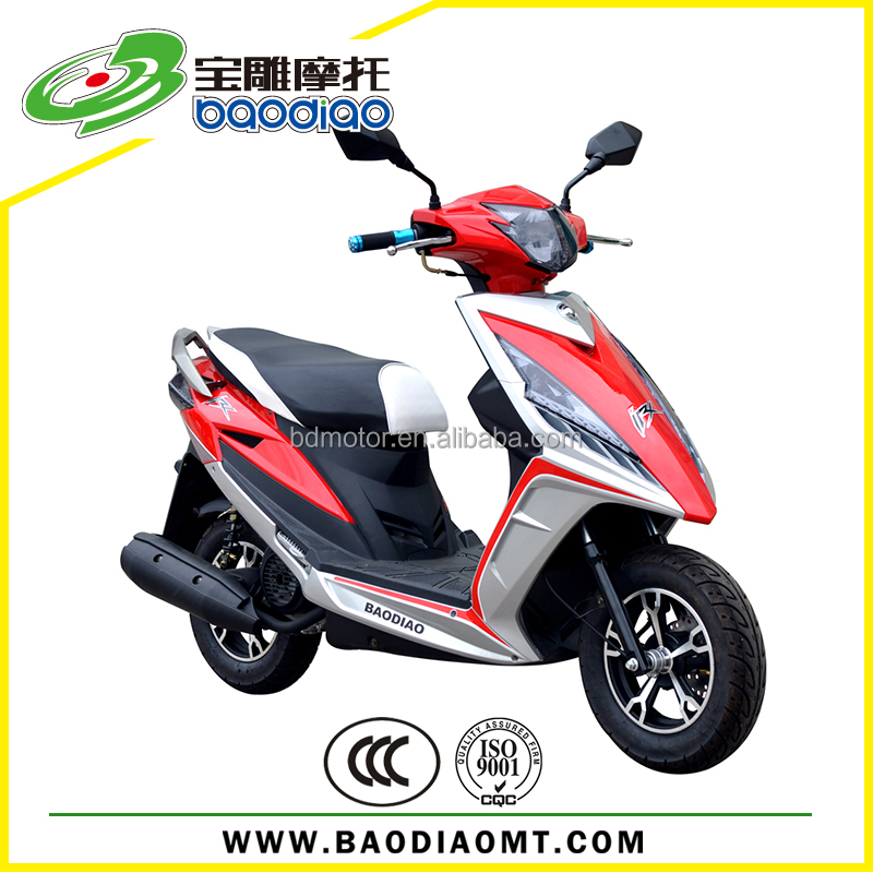 Baodiao New Design 50cc Gas Scooters Cheap Chinese Motorcycle For Sale Four Stroke Engine Motorcycles Wholesale EEC EPA DOT