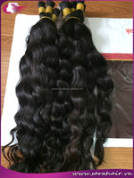 Quick delivery hair extension, only for high quality hair extension/ Loose Wavy Machine Weft