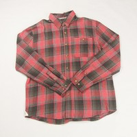 new style spring mens cool shirts hot sale 100% cotton grid shirt man