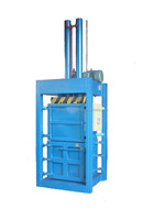 hydraulic vertical baling machine for waste cotton/used clothing/textile/cocoon yarn