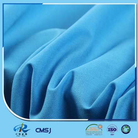 Make to order CVC 45s poplin plain style fabrics for dress clothes
