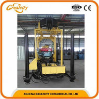 power head water well drilling rig,water well drilling and rig machine