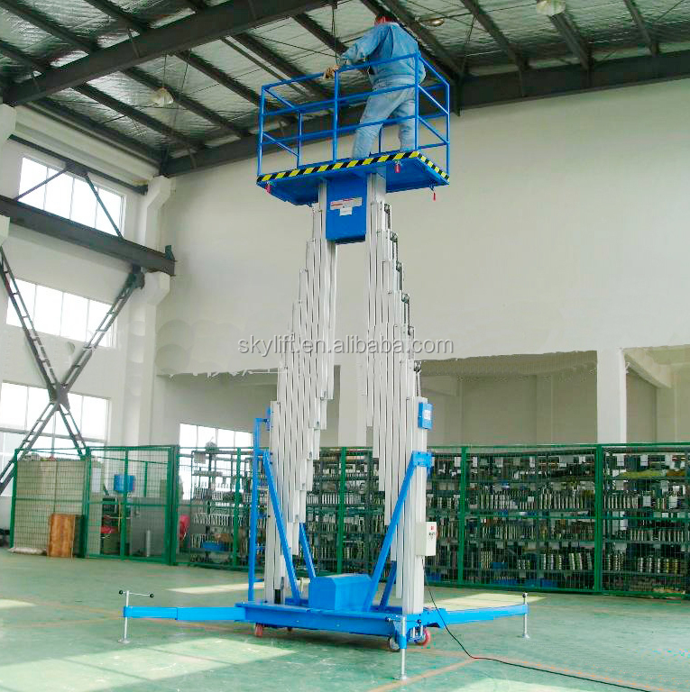 Hot sale !! mobile electric airport 6-16m aluminum alloy lift