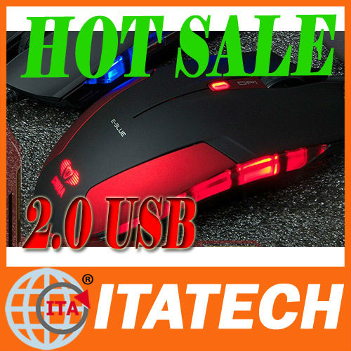 COOL! red/black/blue best wired optical gaming mouse 2013