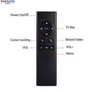MX6 Portable 2.4G Wireless Remote Controller Air Mouse with USB 2.0 Receiver for Smart TV Mini PC HTPC