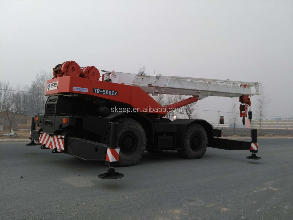 Tadano Used Rough Terrain Crane 50 Ton , TR500EX, Original From Japan