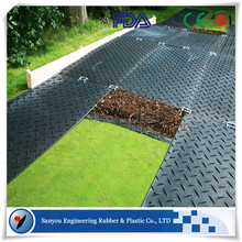 Non-slip Outdoor Support Mat HDPE Plastic Temporary Road Ways