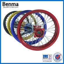 Chinese high quality motorcycle spare parts/17 inch motorcycle alloy rims