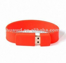 High quality wrist usb bracelet, silicone usb wristband, cheap usb flash drive bracelets wholesales
