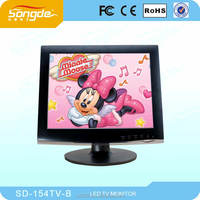 15 inch HD LCD/led TV WITH USB/SD