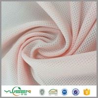 hot sexy manufacuter poly spandex mesh lingerie fabric for gilding garment fabric stretch mesh for NBA jersey