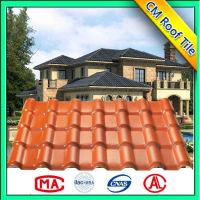 Asa Plastic Corrugated Roof Shingles/Chinese Pvc Roof Tiles/Spanish Roof Sheet