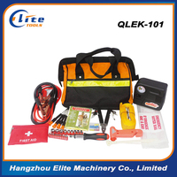 Automotive Emergency Car Travel Safety Kit l with First Aid Medical Survival For Roadside Home