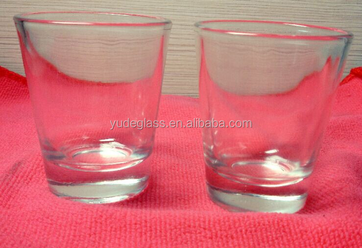 clear standard size shot <strong>glass</strong> for home/bar wholesale