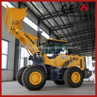 Qingzhou construction mini wheel loader small tractor front end loader