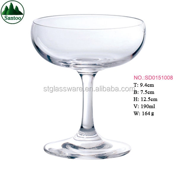 Factory Directly Champagne Coupes Glasses