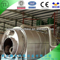 Automatic High Efficiency Continuous waste tires pyrolysis machine with top quality