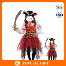 Pirate simple medieval cosplay costumes, popular kids mascot costumes