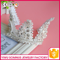 High quality Pageant tiara stunning crown for decorative hot selling queen tiara