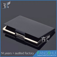 Newest metal business place card holder wallet factory price for sale