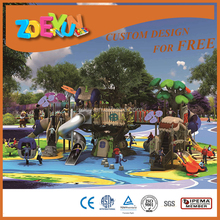 Natural Tree House Series Park Games Children Outdoor Playground Equipment