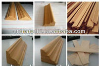 Primed Decorative Wood Crown Molding