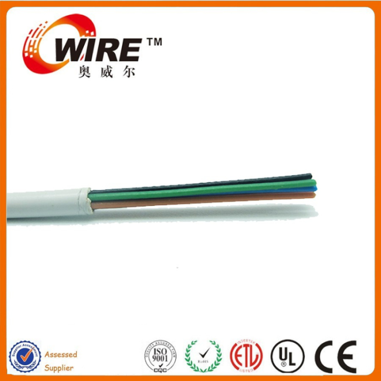flat/round Factory supply telephone cable wiring supplies