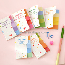 Memo paper Pads Style korean stationery custom Self-Adhesive Feature cartoon magnetic die cut sticky notes