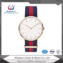 Top Brand Luxury Daniel Wellington Watch Nylon Strap Military Quartz DW Watch