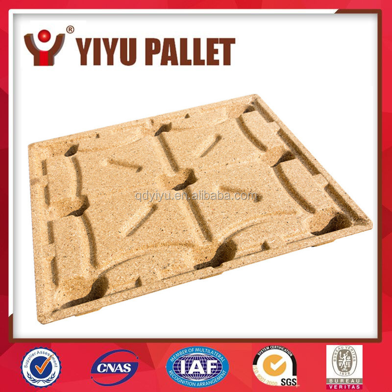 multi-usage moded compressed wood chip pallet