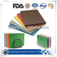 Good performance hygienic kitchen /baguette /food safe vegetable plastic cutting /chopping board